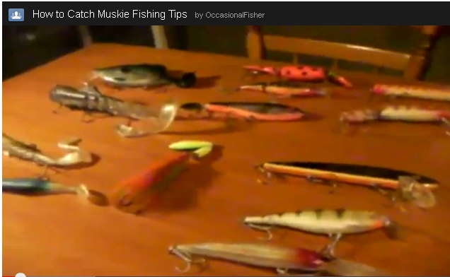 How to Catch Muskie Fishing Lure Tips by Occasional Fisher