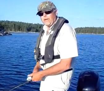 Hot Hot July Evening Walleye Action Fishing Deep Water
