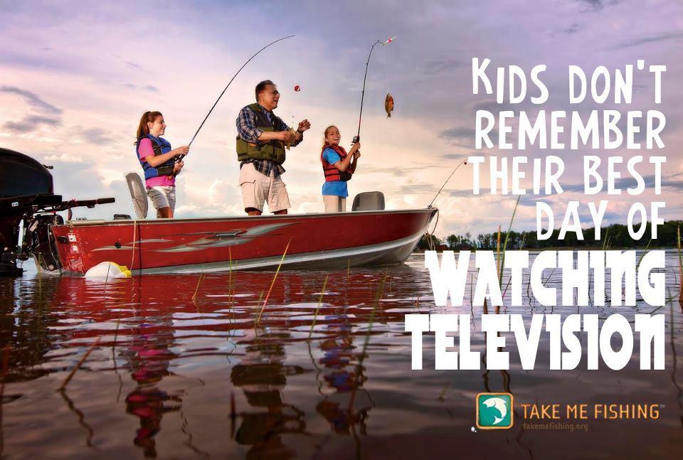 Take Your Kids Fishing…