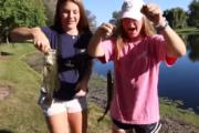 Taking Sisters Fishing